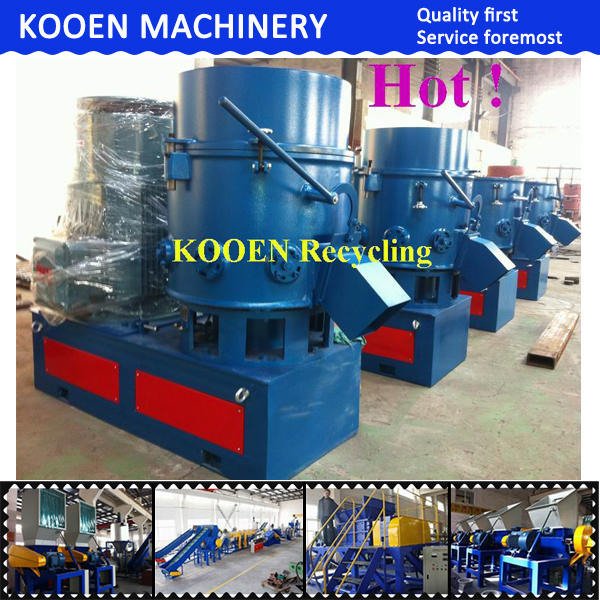 best selling plastic densifier machine