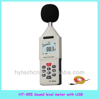 HT-855 Digital sound level meter with USB