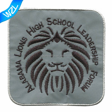 Customized reflective embroidery patches