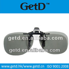 Anti-scratch Circular polarized clip on 3D glasses CP720GTS16