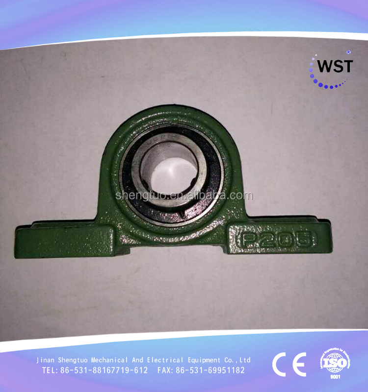 china factory made pillow block bearing ucp205 with bearing housing p205