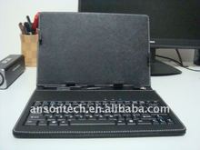 7inch,8inch,10inch tablet cover with keyboard