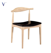 hans wegner chair ash solid wooden dining elbow chair
