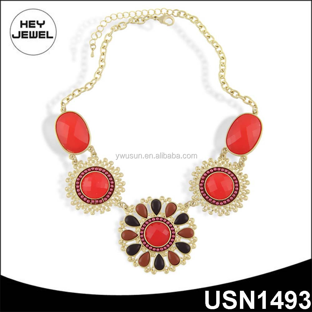 resin beads gold plating fashion accessories thailand