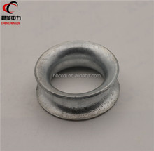 China low price OEM dead end eye thimble hardware for electric power line fitting