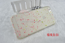 For Apple iPhone 6 PC Hard Case, Snow Flowers Design for iphone 6 Luminous Case Wholesale China