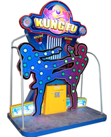 kung fu ticket redemption coin pusher arcade games coin operated game machine