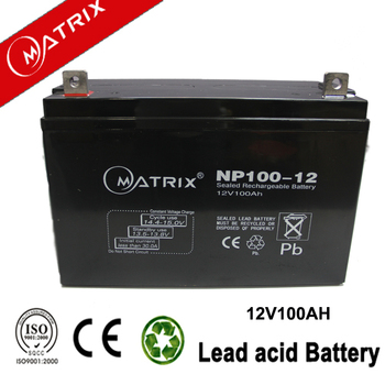 Hot sell smf 12v 100ah deep cycle battery price