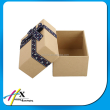 High quality wholesale paper packaging gift box with bowknot