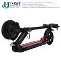 350W 36V strong power city bike folding adult e-scooter with LED front light and horn