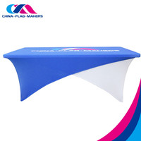 cheap room meeting spandex stretch table top cover