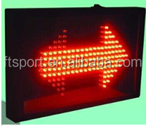 LED Electronic Right to Serve Sign for Basketball