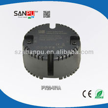 SANPU CE ROHS mini round type 100-240v 20w 700ma led high bay light meanwell driver
