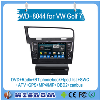 2016 factory low equipped golf 7 dvd player with gps navigation 2 din car radio auto audio video support wifi bluetooth tpms swc