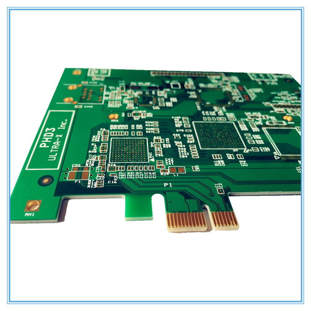 Pcb single side copper double plate presensitized prototype fast pcb