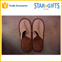 China Factory Custom Cheap Closed Toe Hotel Disposable Slippers For Guest