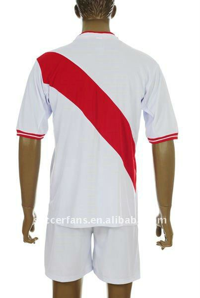 Peru home cheap soccer jersey