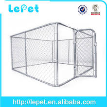 Custom logo high quality large outdoor heavy duty expandable pet fence