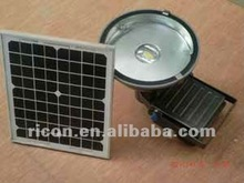 solar led flood light with 7w led and 30w panel with15Ah battery