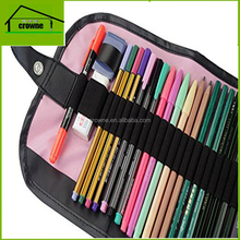 Colored Pencil Set with Canvas Wrap Art Drawing Set with 36 Assorted Colors and Rollup Art Supply Case