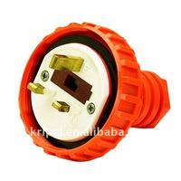 industrial electric waterproof plug outdoor