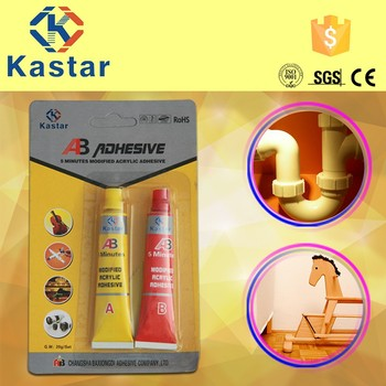 Trade Assurance $30.000 high bonding intensity modified acrylic adhesive for metal