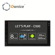 Ownice 8 core 2G RAM car audio player for two din universal with multimedia player With WIFI gps rds BT radio