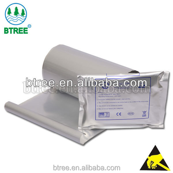 Btree Aluminum Laminating Film For Making Moisture Barrier Bags