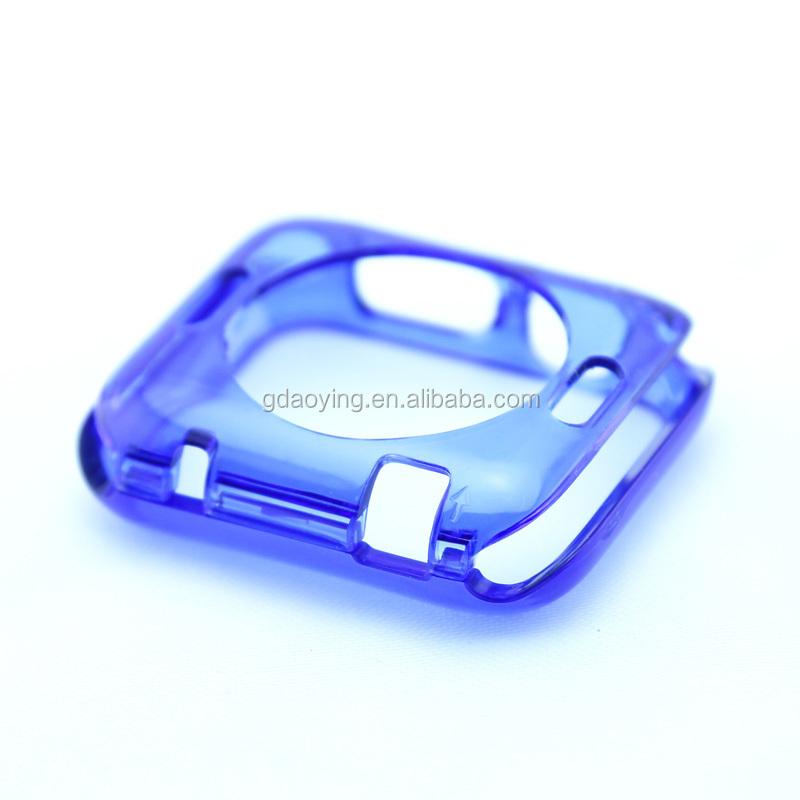 plastic watch accessories for apple solid color watch protector case