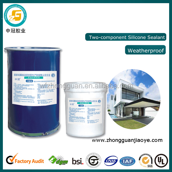 Two Components Silicone Sealant for Galvanized Steel