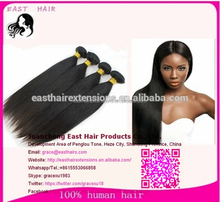2016 Wholesale factory human hair 100% remy virgin human hair extension aliexpress brazilian hair