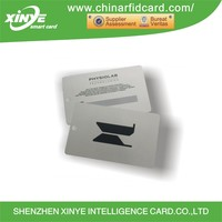 Gold/Silver Silk-Screen Printing Smart 13.56MHZ MIFARE Classic(R) 1K RFID Chip Card for Acess Control
