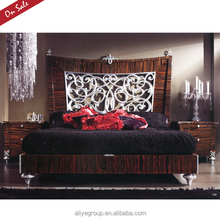 Best quality luxury modern apartment size bedroom furniture BL21501/A