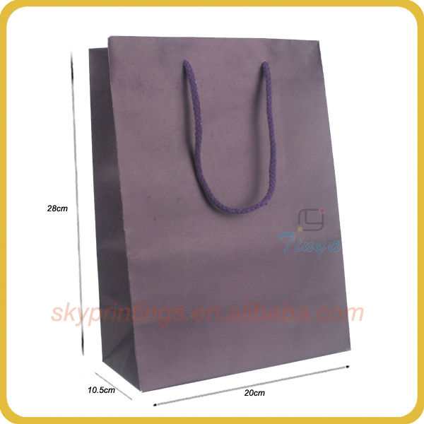Roast chicken paper bag for packaging