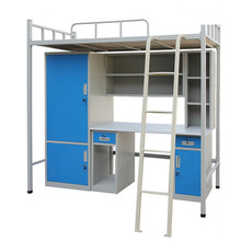 Metal Frame Students Steel Apartment Bunk Bed