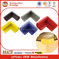 furniture glass table sharp edge corner protector/L shape corner protector