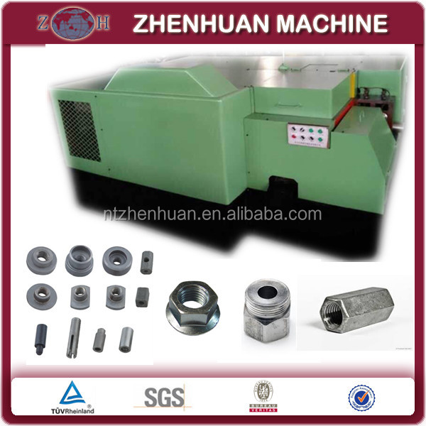 Multi-station rivet nut cold heading machine