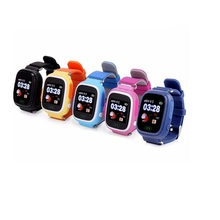 Gifts Kids Tracker Touch Screen GPS Smart Watch With Usb SOS Support Wifi GSM Phone