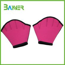 Best sell trendy fashion fingerless swimming gloves for girls