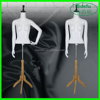 Plastic Model for Clothes Display Half Body Mannequin Wholesale