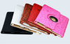 hot 2014 High Quality Pu Leather Stand Case for iPad 4 Loverly Sweet Magic Girl Smart Cover for New iPad 2 3 4 Free Shipping