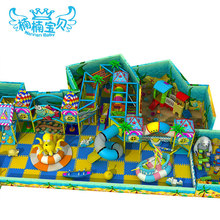 Small size indoor playground equipment, indoor soft play station, soft commerical amusement park