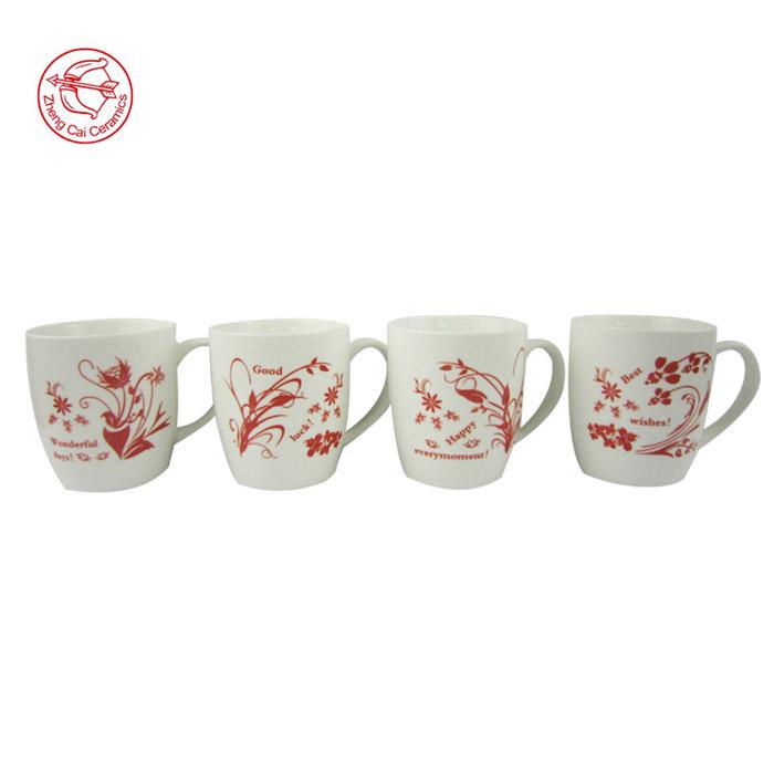 Factory Direct Manufacturer Porcelain Paintable Ceramic Coffee Mug