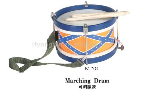 Top-Selling Musical Percussion Instruments Baby Marching drum, Baby Toys Musical Instruments Small Drum (CE certificate)
