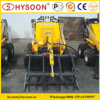 Hysoon mini skid steer grapple for sale