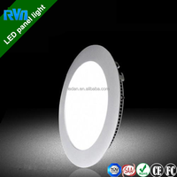 ceiling design led panel light price 18w with CE Rohs