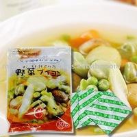 Vegetable soup powder (chemical seasoning-free)