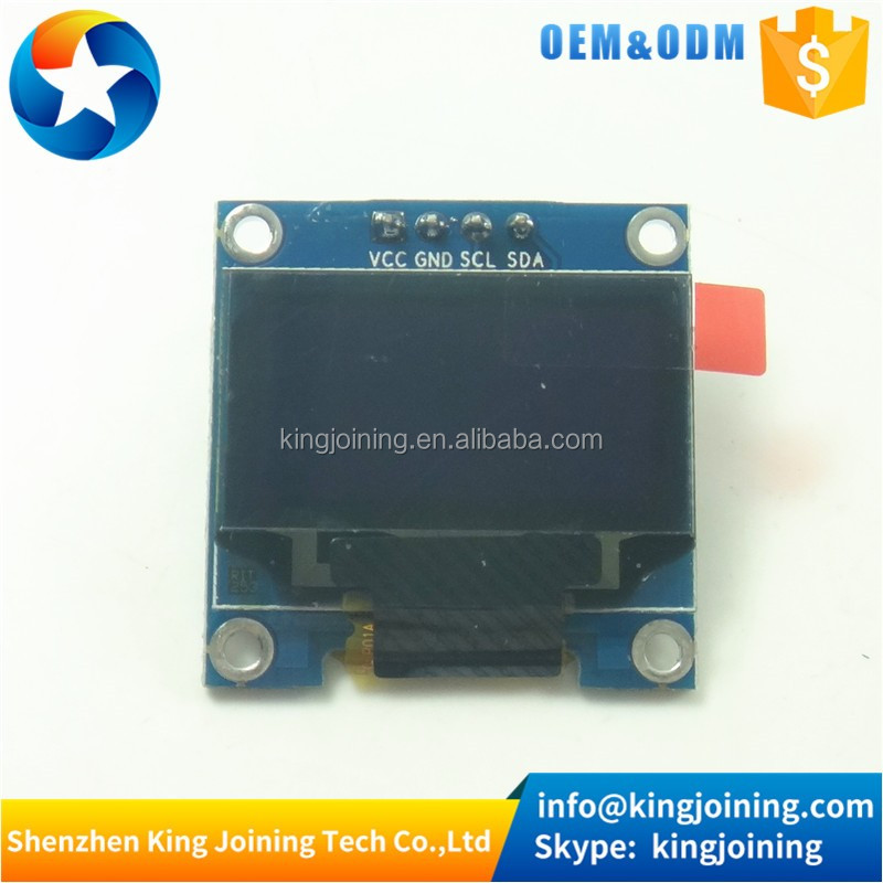 "KJ103 Blue 128X64 12864 LCD LED Display I2C IIC SPI Serial 0.96"" OLED LCD Module For Arduinos"