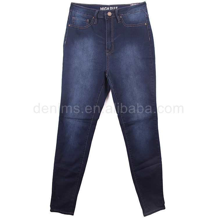 P545544-2-B1 d ladies' dark blu big time jeans