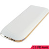 Power supply,external battery power portable charger power bank 10000mah, with dual usb and led light